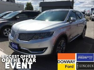 2016 Lincoln MKX Reserve - 1 OWNER   LOADED   LOW KM!!