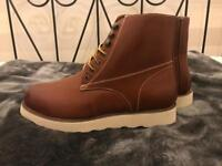 Red Wing Style Mens Boots