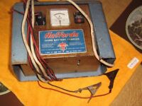 halfords old style battery charger 6 & 12 volt gwo