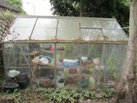 10 x 6 Greenhouse with window openings