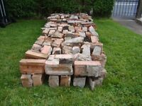 190 free bricks from dismantled chimney