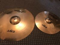 Selling Zildjian ZBT Cymbal Pro 4 set(missing ZBT crash)