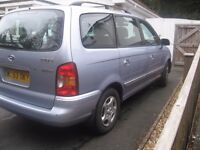 2004 MODEL HYUNDAI 7 SEATER TD/ DIESEL2.0 TRAJET MOT/APRIL P0SS/PART X