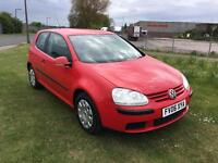 06 REG VOLKSWAGEN GOLF 1.6 FSI S 3DR-12 MONTHS MOT-HISTORY-GREAT LOOKING GOLF FOR PRICE-DRIVES WELL