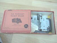 Vintage Cine Film splicer Arguet Colleuse Marguet tri film Automatique Boxed