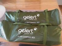 X2 single camping beds £15 for both