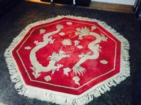 Rug.Chinese rug.wool rug