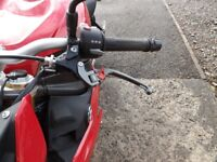 BMW S1000R IN RED WITH ONLY 4254 MILES £8500 ono