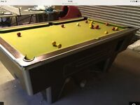 Slate based pool/ snooker table , vgc could deliver