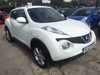 Nissan Juke 1.6 16v Acenta 5dr£6,485 p/x welcome FREE WARRANTY, NEW MOT