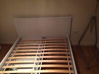 IKEA - BRUSALI Doubel bed for sale (Only collection) FREE