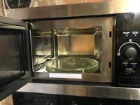 Built in oven and microwave