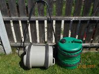 aqua roll & handle & water porter barrel