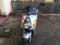Honda Nes 125 Moped