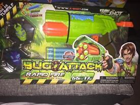 Bug attack rapid fire brand new