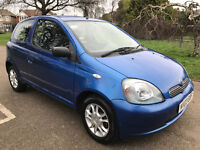 Toyota Yaris 1.0 VVT-i Colour Collection, 1 Years MOT, Genuine Low Mileage, Cheap to Run