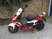 PEUGEOT SPEEDFIGHT 3 50CC SCOOTER MOPED 2013 GOOD CONDITION WITH MOT