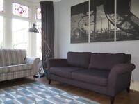 Charcoal Grey JOHN LEWIS 3 Seater Sofa