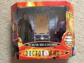 Doctor Who, Rose & Cassandra action figure set