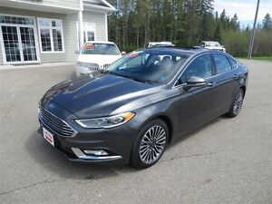 2017 Ford Fusion AWD, NAVIGATION, LEATHER, SUNROOF!!