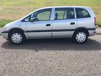 Vauxhall zafira 1.6 life 7 seater 2005 1 years mot 1 owner