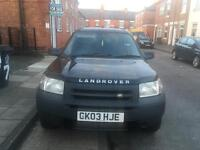 Land Rover freelander with full lpg gas conversion
