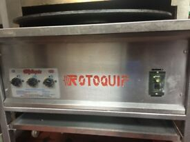 Rotoquip Rotiserrie Naan/Bread Making Machine