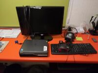 "Acer media PC with monitor(19"" TV HD ready), mouse and keyboard"