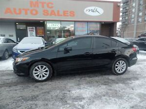 2012 Honda Civic EX-L (A5) LEATHER, SUNROOF, NAVIGATION