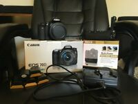 Canon EOS 70d Photography/Film Making package- Includes Kit Lens and Battery Grip + Batteries