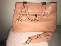 Pink newlook handbag