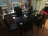 For sale brand new table and chairs for charity ONO