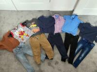 Bundle of Boys Clothing Age 2-3, mostly from Next