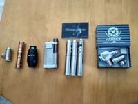 Vaping Equipment Bundle - Selection of Lower Powered Mods for MTL Tanks (used)