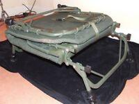 Carp Fishing bed chair Trakker RLX flat-6 compact bed chair carp pike fishing