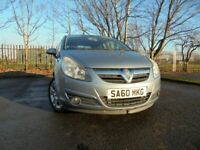 010 VAUXHALL CORSA 1.2,3 DOOR HATCHBACK,MOT OCT 21,2 OWNERS FROM NEW,PART-HISTORY