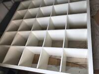 White box shelf
