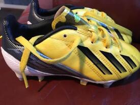 Boys football boots size 10