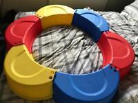 Child's Ball Pit & balls / playpen