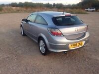 2008 VAUXHALL ASTRA 1.6I MANUAL 16v Sxi 3 DOOR HATCHBACK PETROL