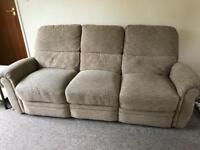 Lazyboy recliner settee