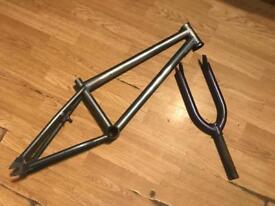 Bike forks and frame