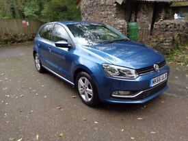 Volkswagen VW Polo 1.2 Match blue motion