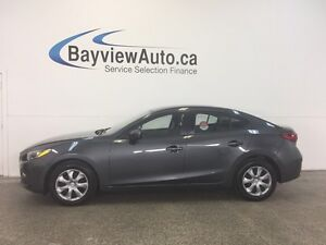 2014 Mazda Mazda3 GX- SKYACTIV! AUTO! PUSH BUTTON START! A/C!