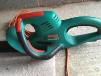 Bosch hedge trimmers