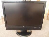 LG M208WA 20 Inch Widescreen LCD TV Monitor