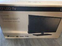 "Brand new 20"" LED TV - Logik"