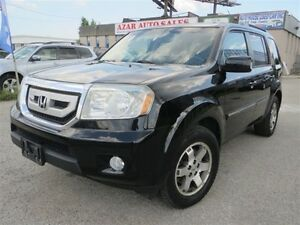 2011 Honda Pilot Touring,NAV,DVD,Roof,|Leather,back camera
