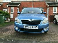 2013 Skoda Fabia 1.2 TSI DSG Automatic 5dr Blue Full Service History part ex welcome