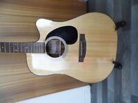 Takamine EG320 SC Electro Acoustic Guitar.